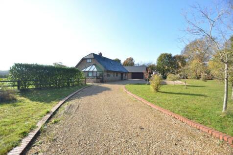Sway Road, Pennington, Lymington, Hampshire, SO41. 4 bedroom detached house for sale