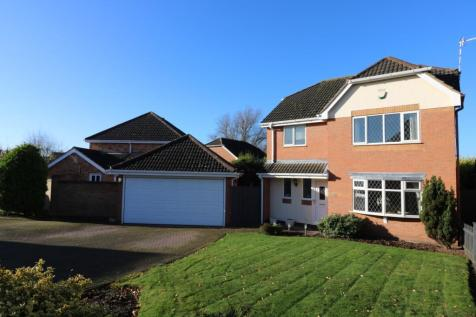 Otter Way, Whetstone, Leicester, Leicestershire, LE8. 4 bedroom detached house for sale