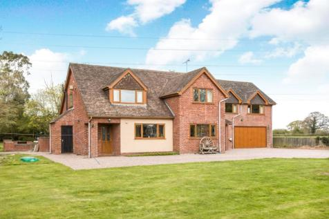 Moss Lane, Warmingham, Crewe, Cheshire, CW1. 6 bedroom detached house for sale