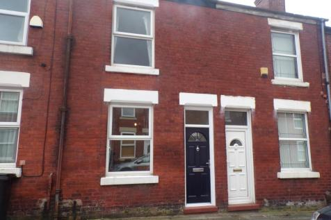 Victoria Road, Offerton, Stockport, Cheshire, SK1. 2 bedroom terraced house