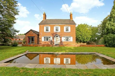 Crewe Road, Haslington, Crewe, CW1. 6 bedroom detached house for sale