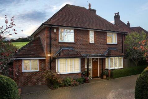 64, Farnham Road, Guildford GU2 4PE. 4 bedroom detached house for sale