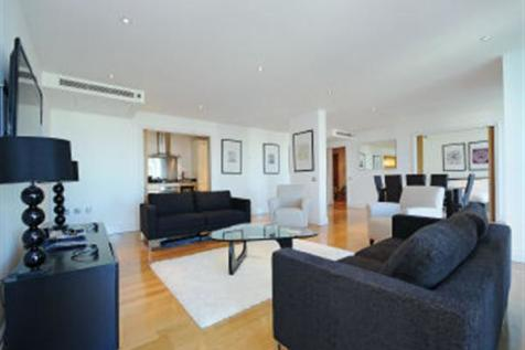 Sheldon Square, Paddington Central, W2. 3 bedroom apartment