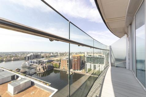 Arena Tower, 25 Crossharbour Place, E14. Studio apartment for sale