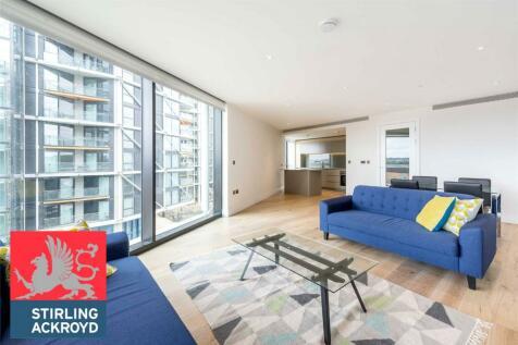 One Riverlight, London, SW11. 2 bedroom flat