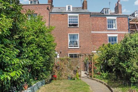 Belmont Road, Exeter. 5 bedroom terraced house