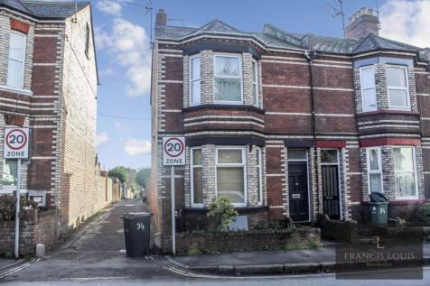 Magdalen Road, Exeter. 5 bedroom end of terrace house
