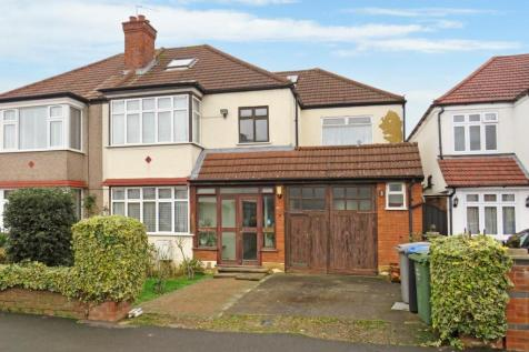 Langham Gardens, Wembley, Middlesex HA0. 5 bedroom semi-detached house for sale