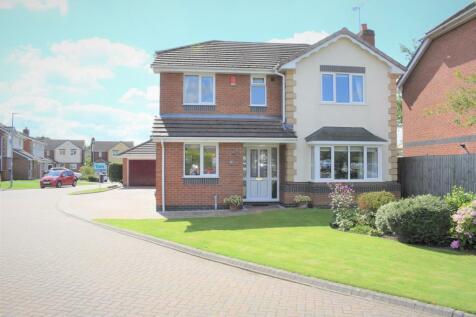 Cloverfields , Haslington, Crewe. 4 bedroom detached house for sale