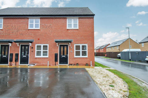 Meteor Way, Whetstone. 2 bedroom end of terrace house for sale
