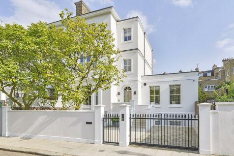 Tor Gardens, Kensington, London, W8. 6 bedroom semi-detached house for sale