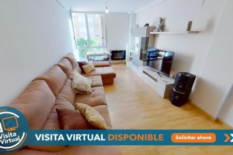 Valencia, Alicante. 3 bedroom ground floor flat for sale