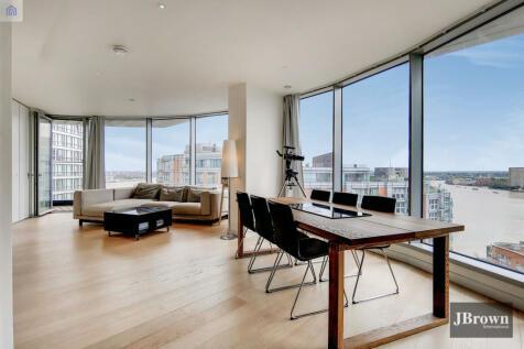 Charrington Tower, 11 Biscayne Avenue, Canary Wharf, London, E14. 3 bedroom apartment
