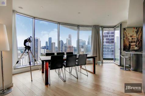 Charrington Tower, 11 Biscayne Avenue, Canary Wharf, London, E14. 3 bedroom apartment for sale