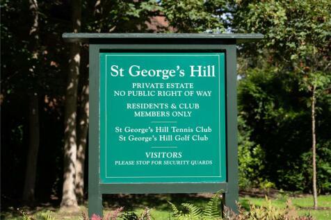 St George's Hill, Weybridge, Surrey, KT13. 7 bedroom detached house for sale