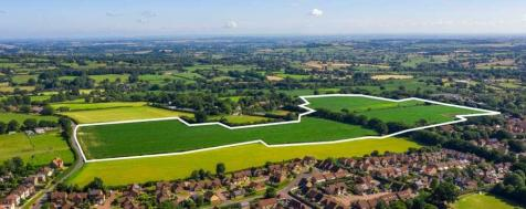 Land at Mount Hindrance Farm, Chard. Land for sale