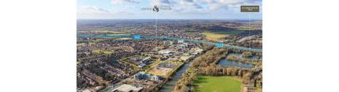 Lakeside and Riverside , Staines-upon-thames. Land for sale