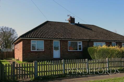 Glebe Way, Horstead. 2 bedroom semi-detached bungalow