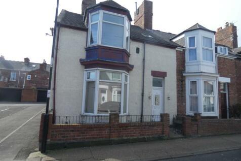Hastings Street, Sunderland, SR2. 3 bedroom end of terrace house