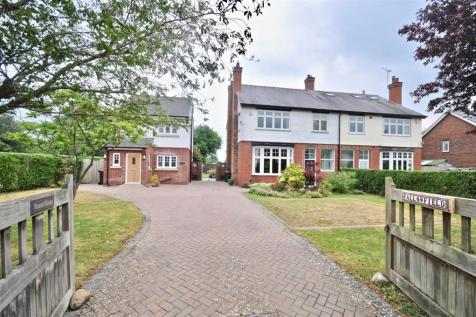 Fallowfield & Russet House, Long Lane, Saughall, Chester. 5 bedroom detached house