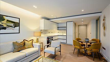 Garrett Mansions, Paddington W2. 1 bedroom flat