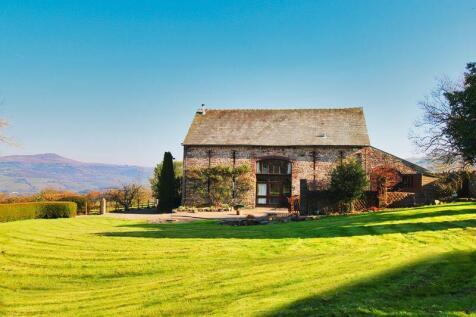 Llangattock, Crickhowell. 4 bedroom detached house for sale
