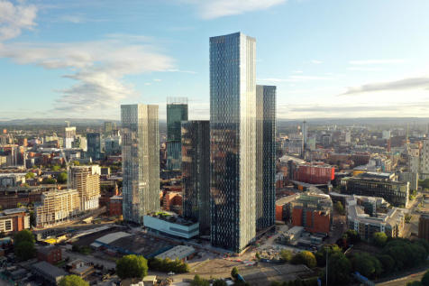 South Tower, Deansgate Square. 2 bedroom apartment for sale
