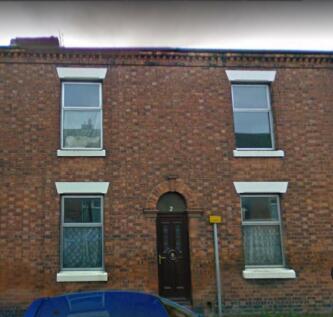 Glover Street, Crewe. 2 bedroom terraced house