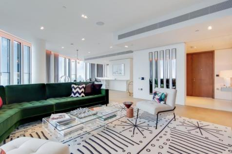 Southbank Tower, Upper Ground, London, SE1. 3 bedroom apartment for sale