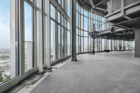 Southbank Tower 55 Upper Ground London SE1. 4 bedroom penthouse for sale