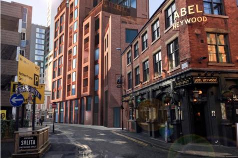 Northern Quarter Apartments, Manchester, M1. 2 bedroom town house