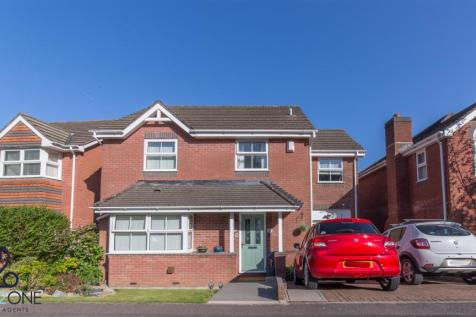Hawkes Ridge, Ty Canol, Cwmbran. 5 bedroom house for sale