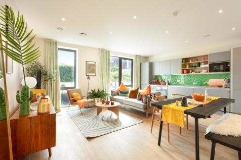Oxbow - East London Sales and Marketing Suite, Abbott Road, Aberfeldy Village, London, E14 0ND. 2 bedroom apartment for sale