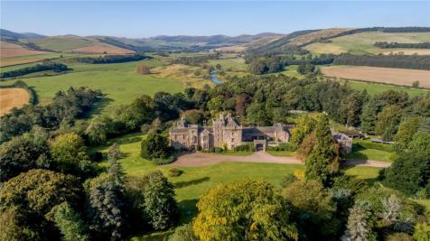 Coupland Castle, Wooler, Northumberland, NE71. 11 bedroom equestrian facility for sale