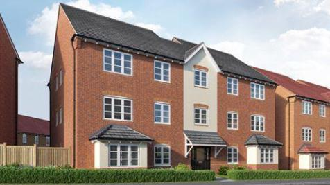 Burgess Road, Wellington, Telford, Shropshire, TF1. 2 bedroom apartment