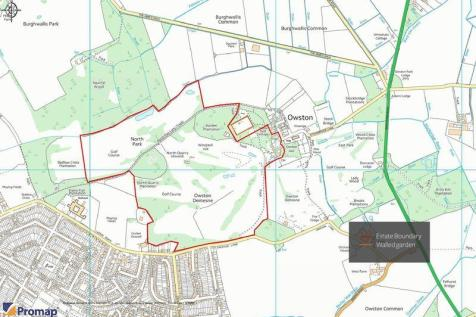 Owston Hall, Walled Garden Project, Doncaster. Land for sale