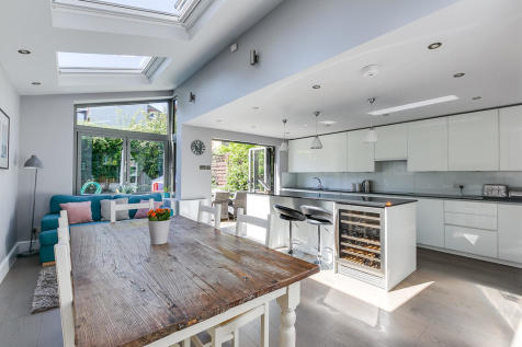 Cheriton Square, London SW17. 4 bedroom end of terrace house for sale
