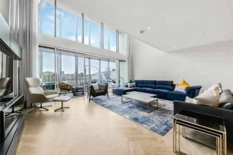 Bessborough House, Battersea Power Station, Battersea, London, SW11. 4 bedroom duplex for sale