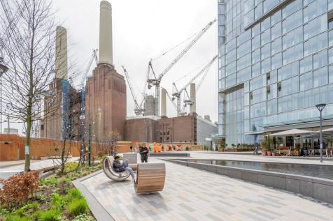 Boiler House Square, Battersea Power Station, Nine Elms, London, SW8. 3 bedroom apartment for sale