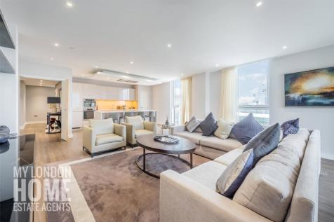 Pinto Tower, Nine Elms Point, 4 Hebden Place, SW8. 4 bedroom apartment for sale