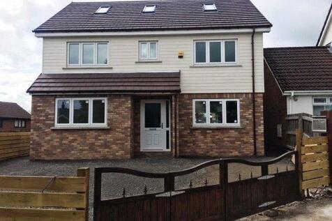 Ivy Close Lower, Rassau, Ebbw Vale, Gwent, NP23. 4 bedroom detached house