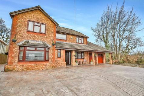 Abercanaid, Merthyr Tydfil, CF48. 4 bedroom detached house for sale