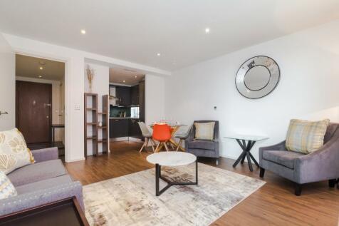 Western Gateway, London, E16. 1 bedroom serviced apartment