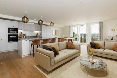 19 Hope Place, Lansdown Road, Bath, BA1. 3 bedroom apartment for sale