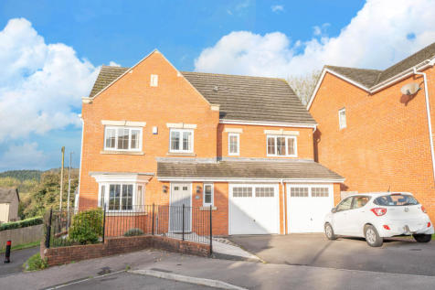 Pontymason Rise, Rogerstone, NP10. 5 bedroom detached house for sale