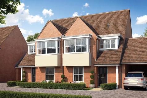 Off of Orchard Way, Kings Hill, West Malling, ME19 4ED. 3 bedroom semi-detached house for sale