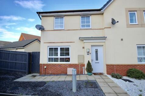 Berkerolles Road, Rogerstone, Newport. 3 bedroom semi-detached house for sale