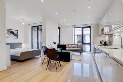 Aberfeldy Village, London. Studio apartment