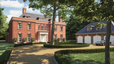 BUILDING PLOT - Avon Castle Drive, Avon Castle, Ringwood, BH24 2BA. 6 bedroom detached house