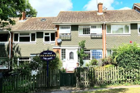 Anson Close, Ringwood, BH24 1XN. 3 bedroom terraced house
